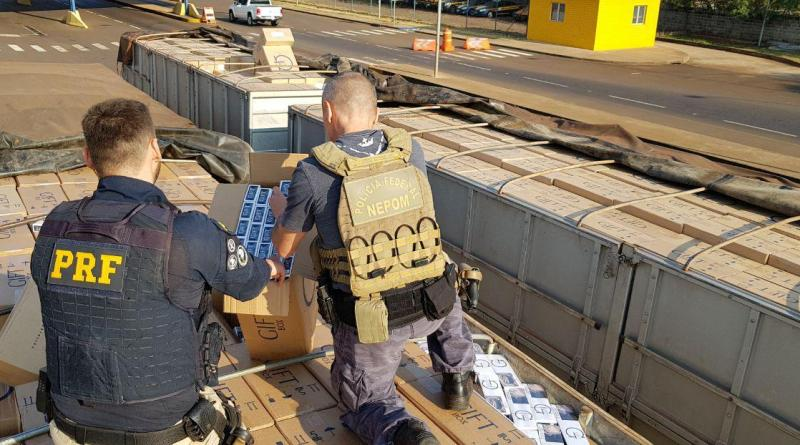 operação contra contrabando